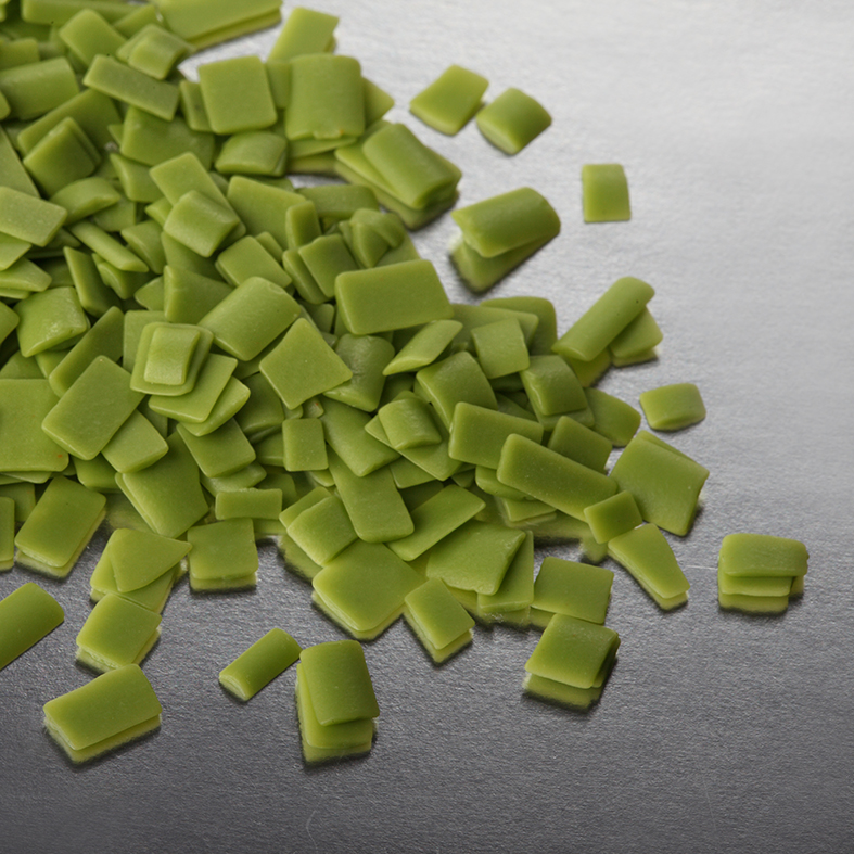 Зеленая глазурь кондитерская крошка