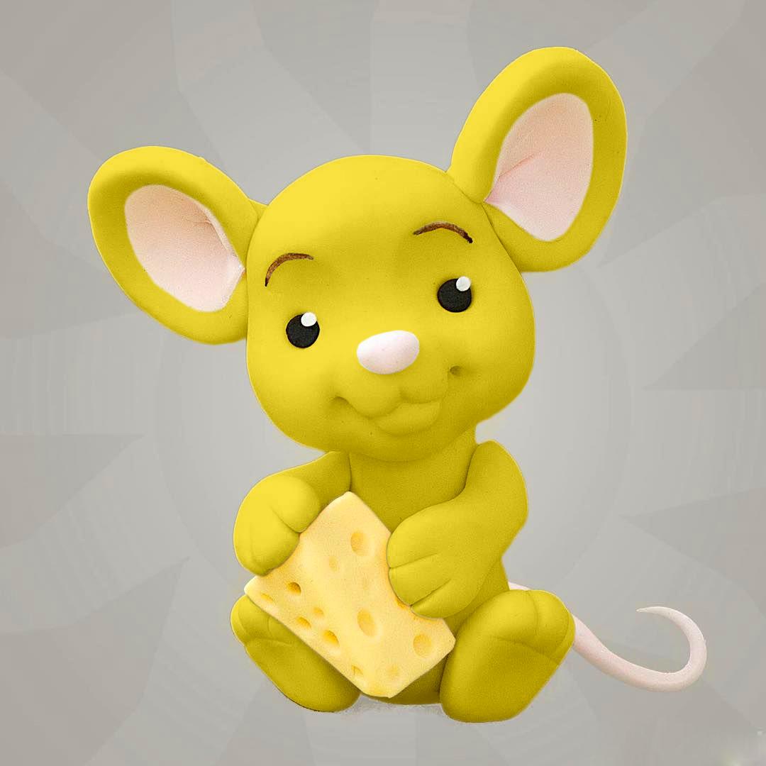 Желтая сахарная мастика